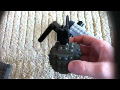 Lego FRAG Grenade and RCXD Remote