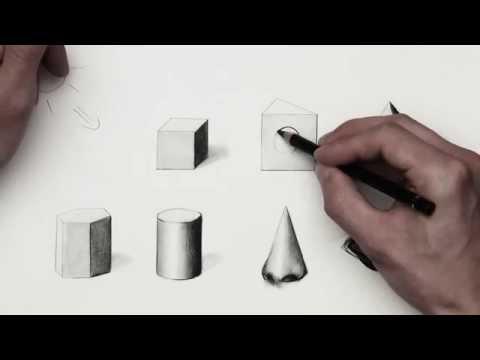 3d objekte zeichnen lernen videolike. Black Bedroom Furniture Sets. Home Design Ideas