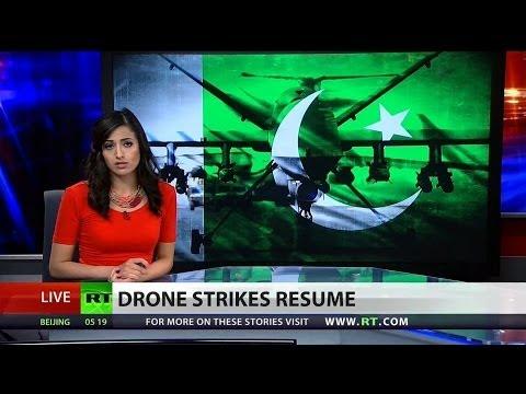 US resumes drone strikes in Pakistan