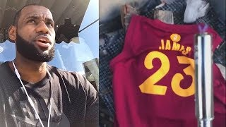 LeBron James Thanks Cleveland After Joining Lakers & Cavaliers Fans Don