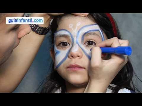 maquillage des enfants papillon youtube. Black Bedroom Furniture Sets. Home Design Ideas