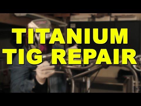 TIG Welding Titanium Tubing