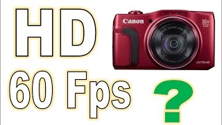 01. HOW TO: Canon SX710 HS 1080 60 frames setting