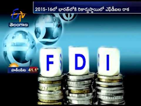 2015 -16 FDI in India reaches record $51 billion in 11 months of FY16: DIPP