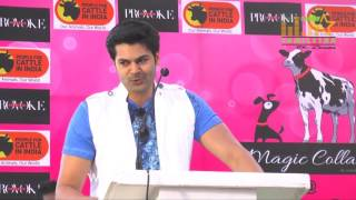 Nikki Galrani And Ganesh Venkatraman At Provoke Pet Party