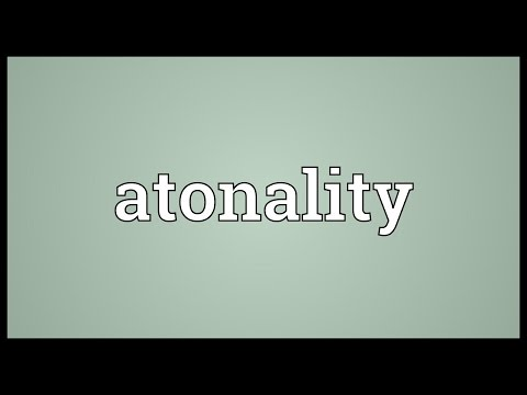 Header of atonality
