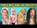 download mp3 dan video 10 PHOTOS OF PEOPLE WHO LOOK LIKE THEIR PETS w/ ADULTS (React)