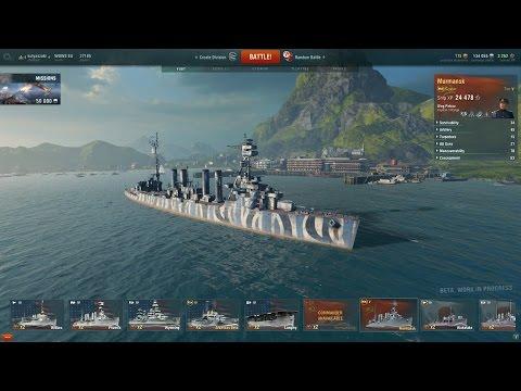 World of Warship's Murmansk Tier5 prémium cirkáló