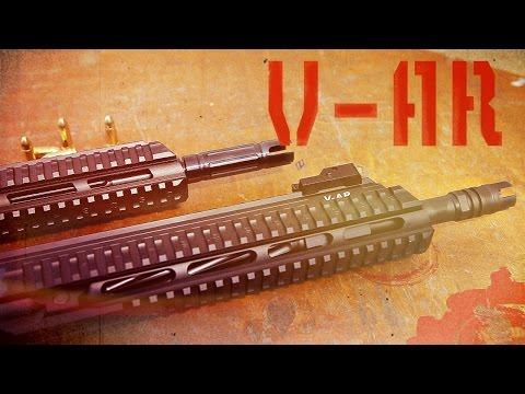 Карабин V-AR. Чешский гибрид AR15 и АК