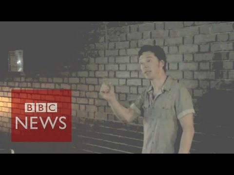 Benedict Cumberbatch asks fans not to film Hamlet - BBC News