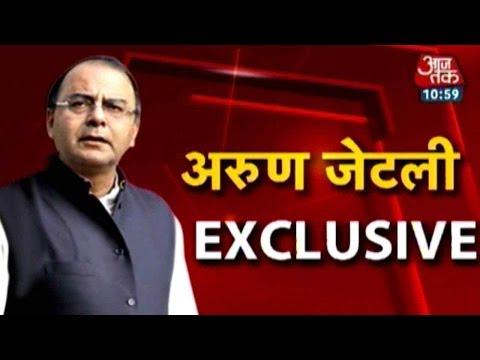 Arun Jaitley Exclusive part-1
