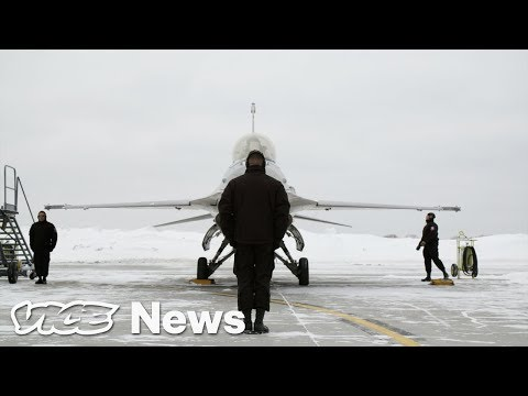 This Is What It's Like To Fly Over The Super Bowl In An Air Force F-16