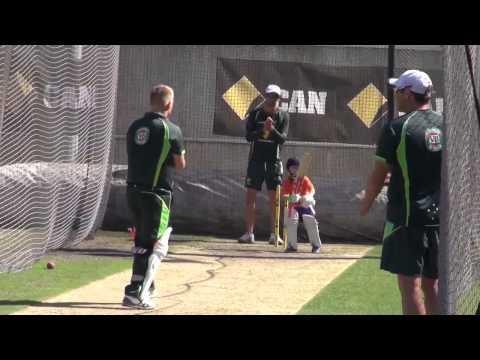 Batting Class with Zac Haddin