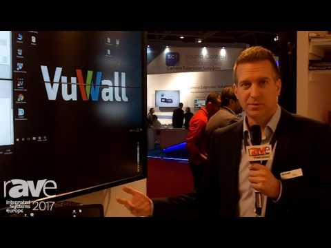 ISE 2017: VuWall Features CoScape Hybrid Presentation System