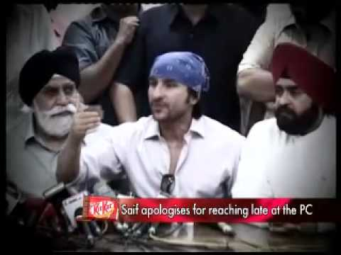 Saif Ali Khan in Gurdwara to say sorry! Video