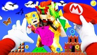 Realistic Minecraft - SUPER MARIO RUN IN REAL LIFE!
