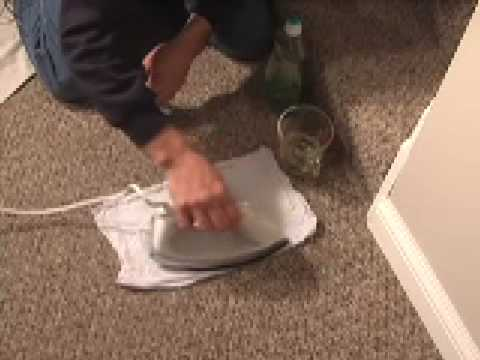 CARPET STAIN CLEANING TIP