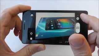 Fly Coral IQ4412 Quad - смартфон с Super AMOLED экраном - видео обзор