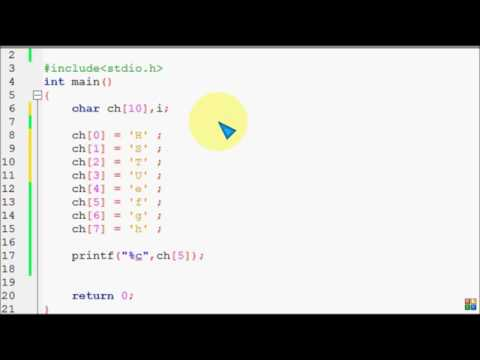 Bangla C programming tutorial 52 String Basic Difference Between char array string
