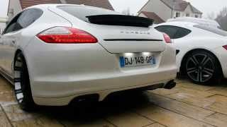 porsche panamera S valve exhaust echappement Close/Open