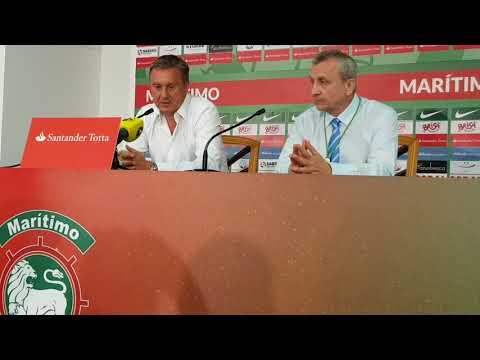 Пресс-конференция Александра Хацкевича после матча с Маритиму