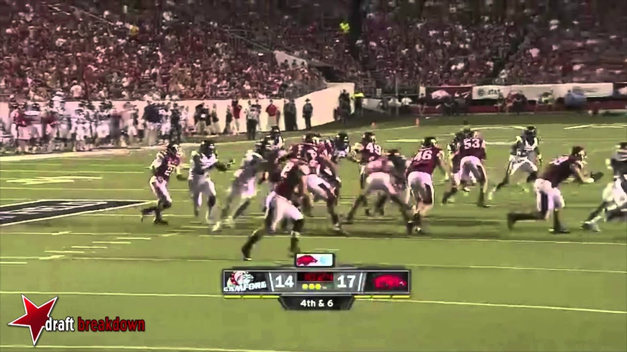 Fabian Truss vs Arkansas (2013)