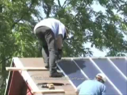 Save Money With Cheap Homemade Solar Panels