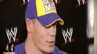 Interview de John Cena