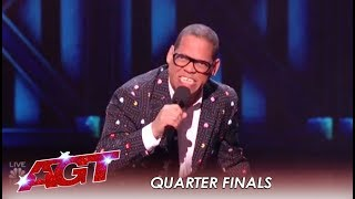 Greg Morton: Master Impressionist Does Famous Movie Impressions! | America's Got Talent 2019