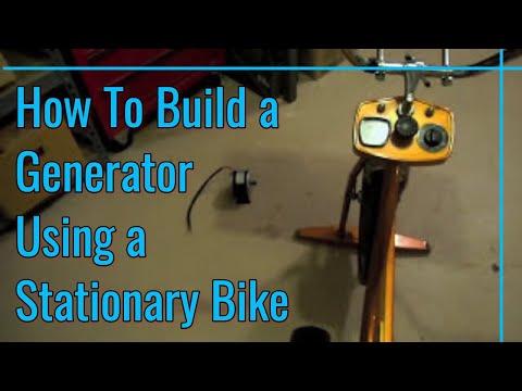 DIY Bike Generator