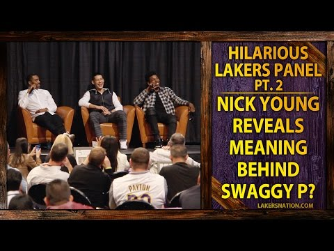 Nick Young Gives Meaning Behind Swaggy P Nickname?