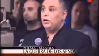 Zulma Lobato vs Mandia ME QUISO TOCAR LOS SENOS