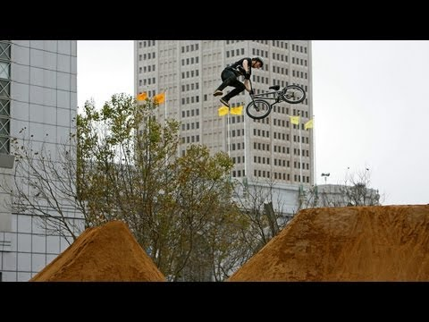 BMX Dirt Semi-Finals Highlights feat. TJ Ellis, James Foster - Dew Tour San Francisco 2012
