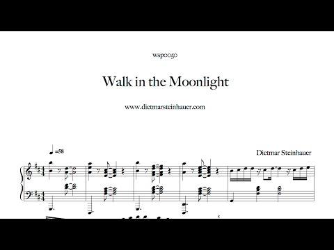 Dietmar steinhauer piano walk in the moonlight for Dietmar steinhauer