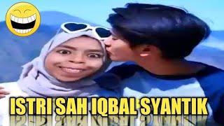 Tahan Tawa!! Vidgram Lucu Nuraini Istri Sah Iqbal Ramadhan (Dilan)