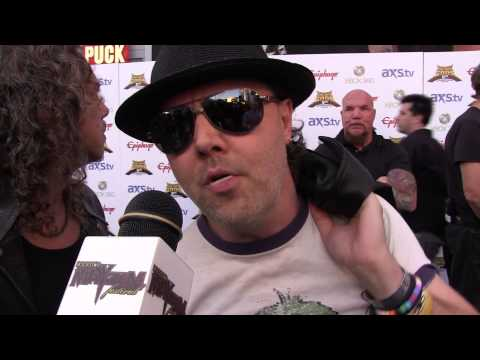 Metallica - 2013 Revolver Golden Gods Interview