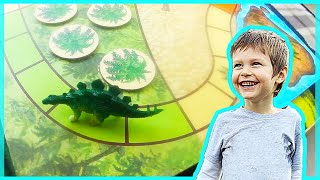 Dinosaur Escape Board Game For Kids