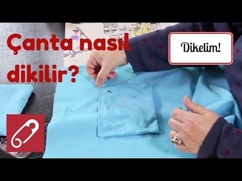 Kumaş çanta nasıl yapılır? - 1 - 10marifet