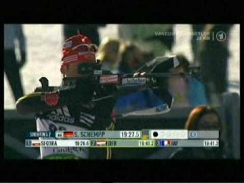 Biathlon Einzel der Männer in Vancouver/Whistler 2009