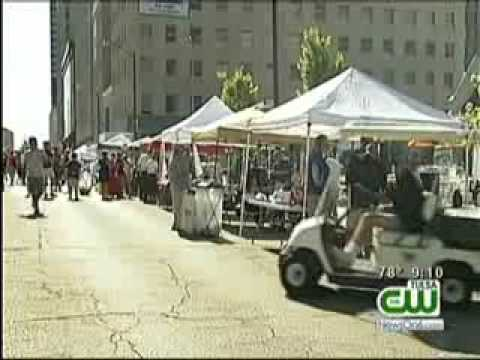 Dozens Of Teams Compete During Steak Cook-off In Downtown Tulsa
