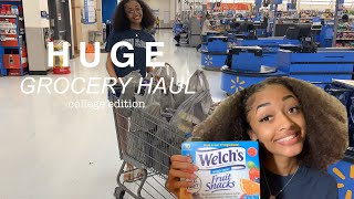HUGE Grocery Haul | college edition !