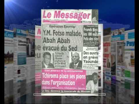 AFRIQUE MEDIA Production -REVUE FRANCAISE DU  22  11  2012.flv
