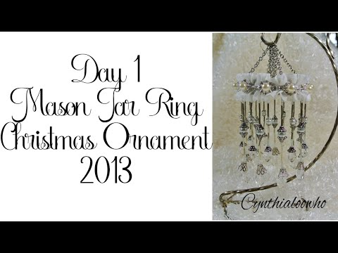 Day 1 of 10 Days of Christmas Ornaments with Cynthialoowho 2013