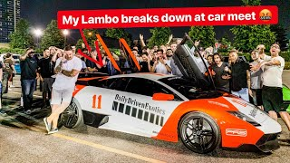 I HOPE I DIDN'T WRECK MY LAMBORGHINI!? *EMBARRASSING*