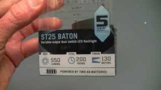 Olight ST25 Baton 550 lumen AA Flashlight Review
