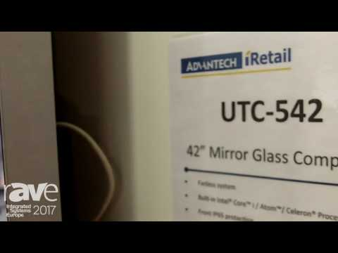 ISE 2017: Advantech Introduces 42″ Mirror Glass Computer