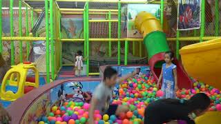 Indoor Playground Family Fun Play Area for Kids Baby Song Johny Johny Yes Papa Nursery Rhymes Songs