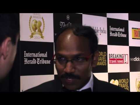 Srinivasu Kolla, manager regional business, dnata, at World Travel Awards Grand Final 2012