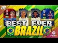 THE BEST EVER BRAZIL TEAM ON FIFA W ICON 96 RONALDO AND ICON 98 PELE mp3