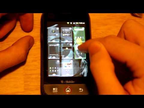 GO Launcher EX Review (Motorola Cliq)